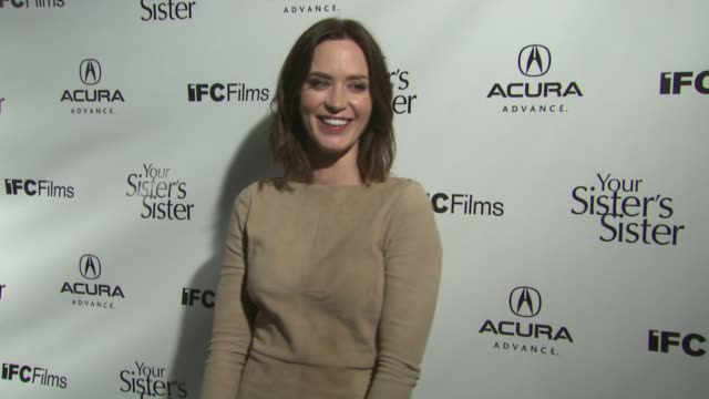 Emily Blunt at Acura Hosts Your Sister's Sister Premiere After Party At The Acura Studio on 1/21/12 in Park City UT