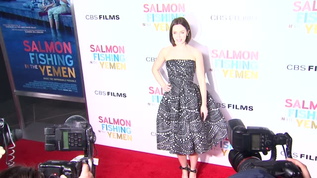 Emily Blunt at Salmon Fishing In The Yemen Los Angeles Premiere on 3/5/2012 in Los Angeles CA