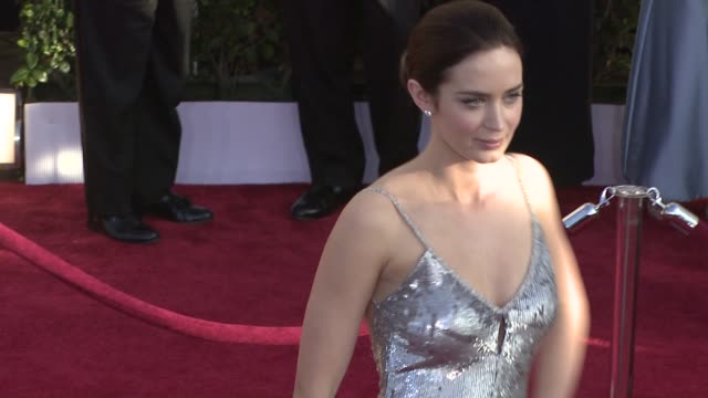 Emily Blunt at the 15th Annual Screen Actors Guild Awards Part 2 at Los Angeles CA