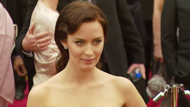 Emily Blunt at the 2007 Academy Awards Arrivals at the Kodak Theatre in Hollywood California on February 25 2007