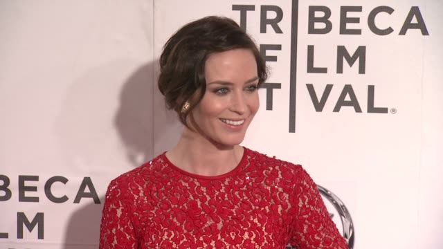 Emily Blunt at 'Your Sister's Sister' 2012 Tribeca Film Festival on 4/19/2012 in New York NY United States