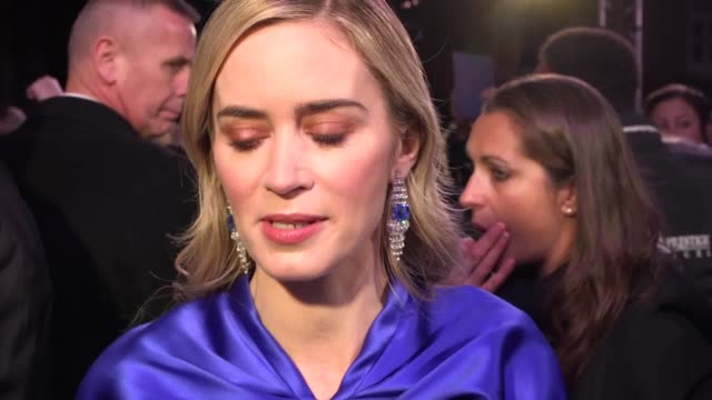 emily blunt discusses her new role as mary poppins and how she hopes to pay homage to the first film and julie andrews. - julie andrews stock videos & royalty-free footage