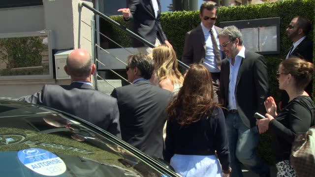 emily blunt mark ruffalo at cannes celebrity sightings on 20th may 2015 in cannes france - mark ruffalo stock videos and b-roll footage