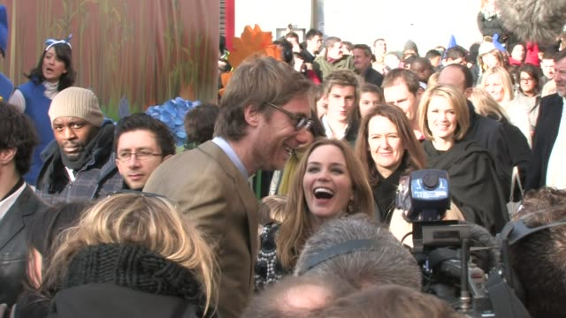 Emily Blunt Stephen Merchant at the Gnomeo and Juliet 3D Premiere at London England