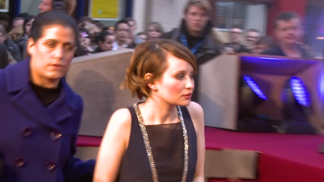 Emily Browning at the Sucker Punch UK Premiere at London England
