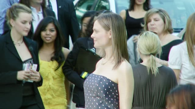 emily deschanel at the 2007 ema awards at the wilshire ebell theatre and club in los angeles, california on october 24, 2007. - wilshire ebell theatre stock videos & royalty-free footage