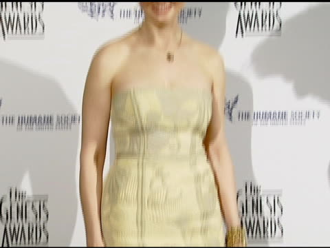 Emily Deschanel at the 2008 Genesis Awards at the Beverly Hilton in Beverly Hills California on March 30 2008