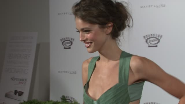 emily didonato at the new york special screening of the september issue at new york ny - september stock videos and b-roll footage