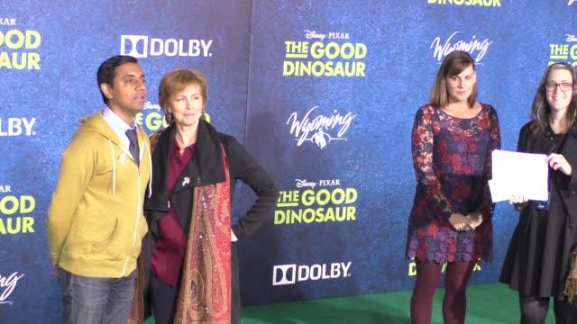 Emily Haynes Sanjay Patel at The Good Dinosaur Premiere at El Capitan Theatre in Hollywood at Celebrity Sightings in Los Angeles on November 17 2015...