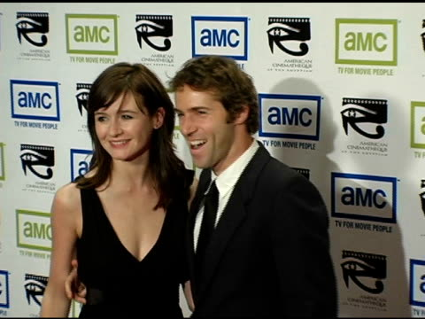 emily mortimer and alessandro nivola at the 19th annual american cinematheque award honoring steve martin at the beverly hilton in beverly hills... - スティーブ マーティン点の映像素材/bロール