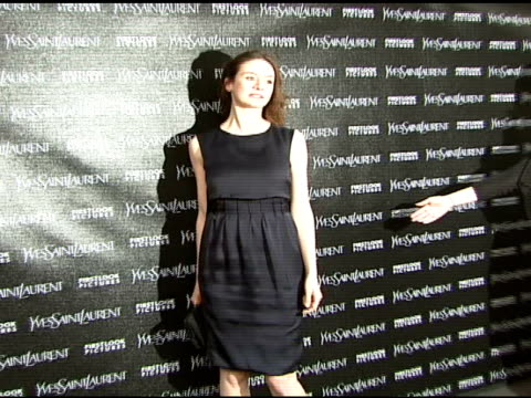 emily mortimer at the 'paris je t'aime' premiere at paris theater in new york new york on may 1 2007 - paris theater manhattan stock videos and b-roll footage