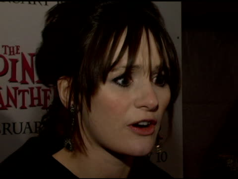 Emily Mortimer at the 'The Pink Panther' World Premiere at the Ziegfeld Theatre in New York New York on February 6 2006