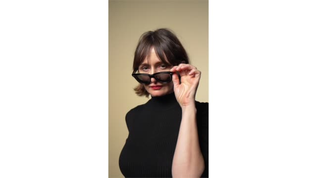 emily mortimer from 'one cambodian family please for my pleasure' poses for a portrait in the pizza hut lounge in park city utah on january 25 2019... - park city stock videos & royalty-free footage