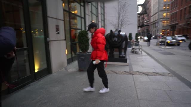 NY: Celebrity Sightings In New York City - January 20, 2020