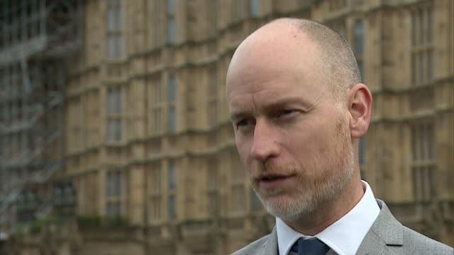 "emily thornberry denies calling caroline flint's constituents ""stupid""; england: london: westminster: stephen kinnock mp interview sot clive lewis mp... - mp stock videos & royalty-free footage"
