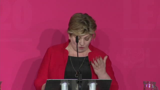 emily thornberry saying as shadow foreign secretary she exposed boris johnson for what he is a reckless lying charlatan - shadow stock videos & royalty-free footage