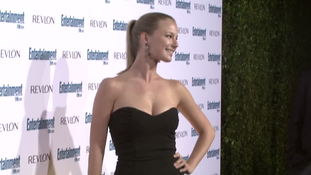 emily vancamp at the entertainment weekly 6th annual pre-emmy party at los angeles ca. - エンターテインメント・ウィークリー点の映像素材/bロール