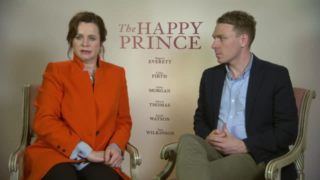INTERVIEW Emily Watson and Edwin Thomas talk about the hypocrisy of Oscar Wilde's treatment at 68th Berlin Film Festival The Happy Prince Interviews...