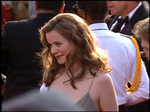 emily watson at the 1997 academy awards arrivals at the shrine auditorium in los angeles california on march 24 1997 - 69th annual academy awards stock videos & royalty-free footage