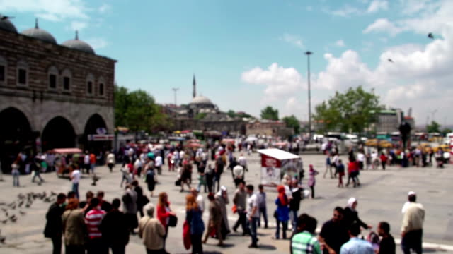 eminonu istanbul - grand bazaar istanbul stock videos and b-roll footage