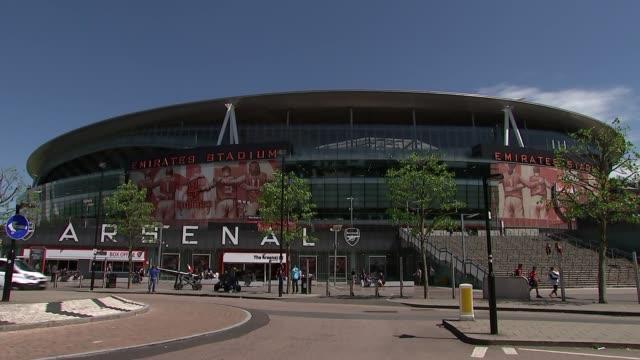 London Highbury Emirates Stadium EXT General views of Emirates Stadium ground of Arsenal FC