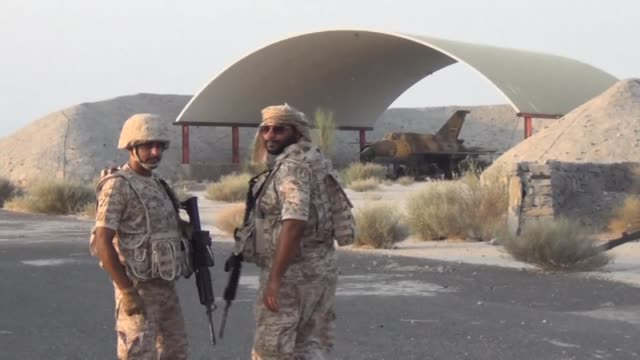 emirati soldiers taking part in the saudi led operations against shiite huthi rebels participated in the rehabilitation and demining operations at... - red sea stock videos & royalty-free footage