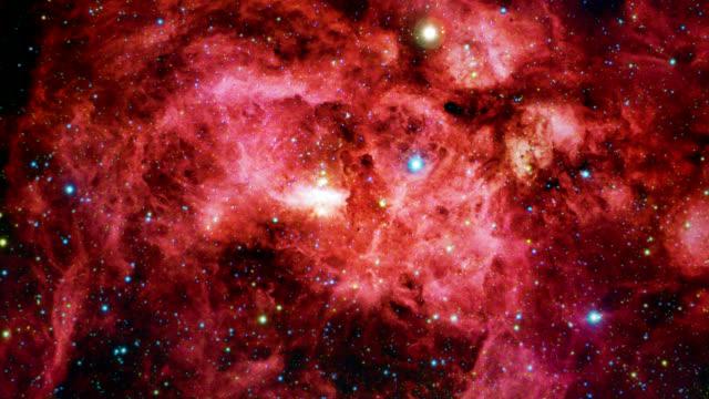 Emission nebula (NGC 6357), optical image.