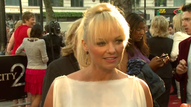 Emma Bunton Louis Spence at the 'Sex And The City 2' LondonUK Premiere at London England