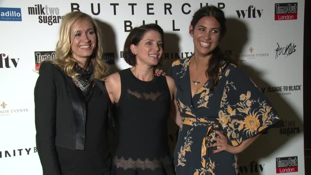 BROLL Emma Comley Sadie Frost and Emilie RichardFroozan Annabelle Neilson Edith Bowman at Curzon Soho on September 01 2015 in London England