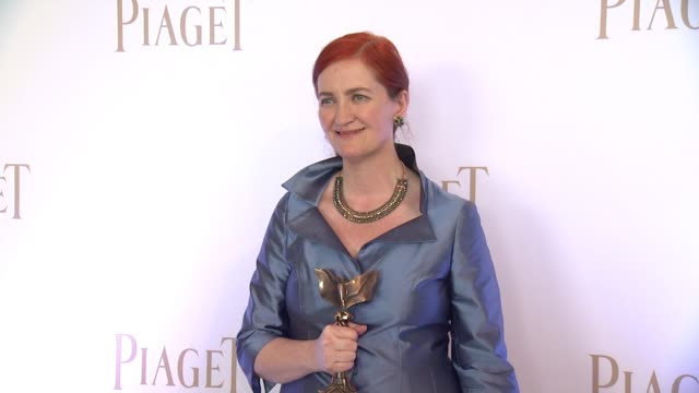 emma donoghue at piaget at the 2016 film independent spirit awards in los angeles ca - emma donoghue stock videos and b-roll footage