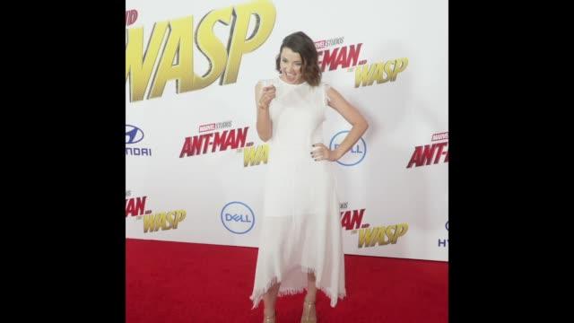 Emma Lahana at the AntMan and the Wasp World Premiere
