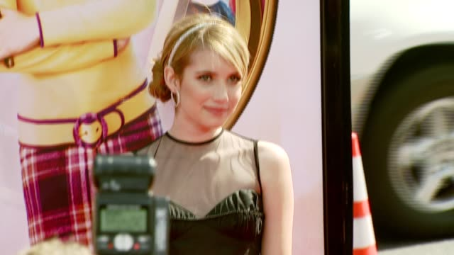 Emma Roberts at the 'Nancy Drew' Premiere at Grauman's Chinese Theatre in Hollywood California on June 10 2007