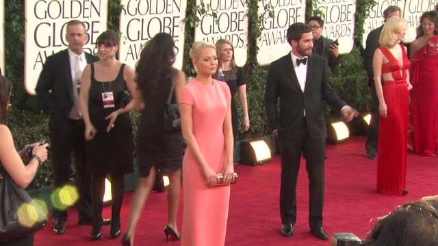 Emma Stone at the 68th Annual Golden Globe Awards Arrivals Part 2 at Beverly Hills CA