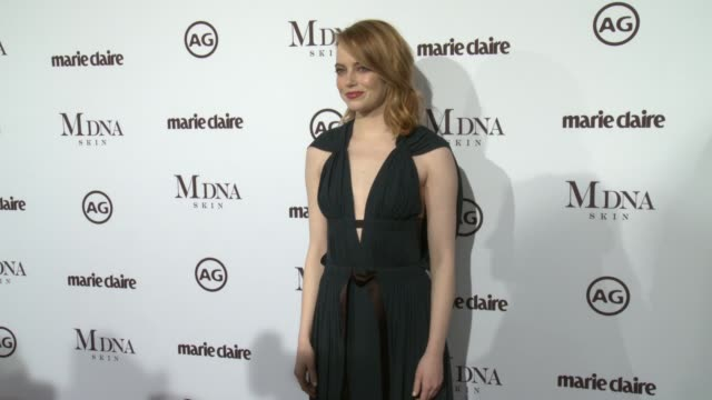 Emma Stone at the Marie Claire's Image Maker Awards 2018 at Delilah on January 11 2018 in West Hollywood California
