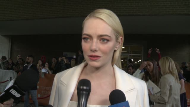 INTERVIEW Emma Stone on never having portrayed a 'real life' person until now She talks about taking a role as iconic in women's history as Billie...