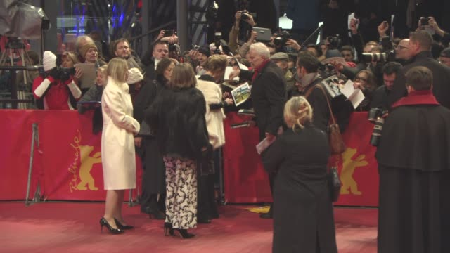 emma thompson at 'alone in berlin' red carpet 66th berlin international film festival at berlinale palast on february 15 2016 in berlin germany - emma thompson stock videos and b-roll footage