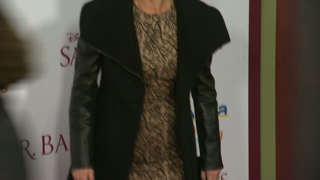 emma thompson at saving mr banks los angeles premiere in burbank ca on 12/9/2013 - emma thompson stock videos and b-roll footage