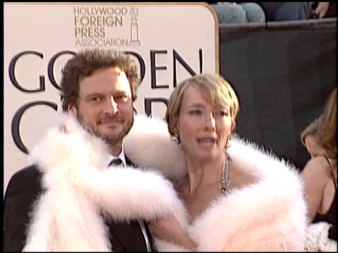 emma thompson at the 2006 golden globe awards at the beverly hilton in beverly hills california on january 16 2006 - emma thompson stock videos and b-roll footage