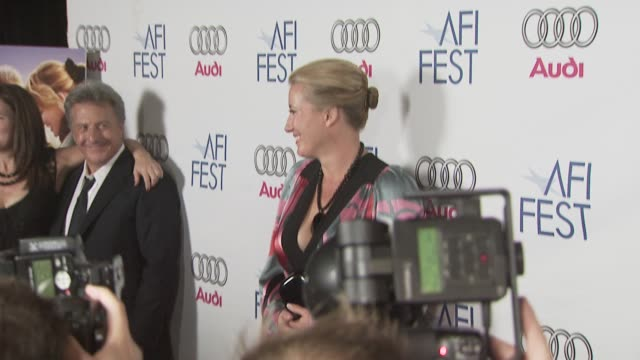 emma thompson at the 'last chance harvey' premiere at los angeles ca - emma thompson stock videos and b-roll footage