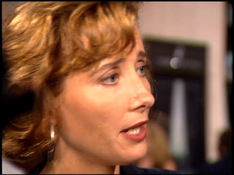emma thompson at the 'mary shelley's frankenstein' premiere on november 1 1994 - emma thompson stock videos & royalty-free footage