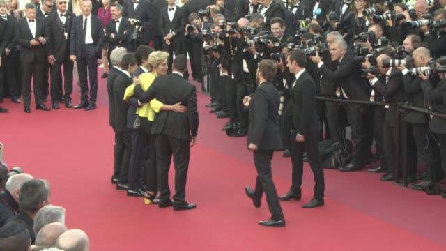 emma thompson dustin hoffman ben stiller noah baumbach adam sandler at 'the meyerowitz stories' red carpet on may 21 2017 in cannes france - noah baumbach stock videos and b-roll footage