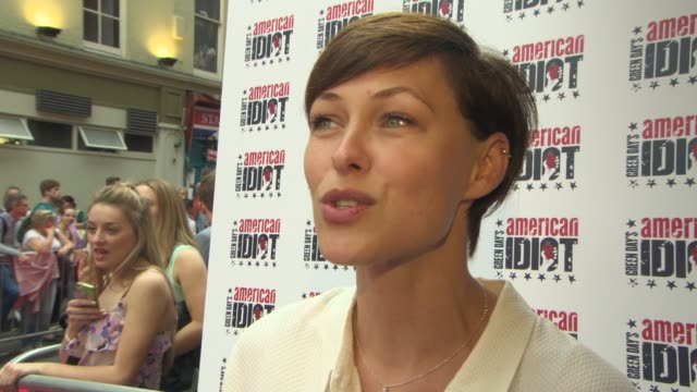 INTERVIEW Emma Willis on being a Green Day fan seeing the play in America behind the scenes at 'The Voice' at American Idiot Press Night Press Night...