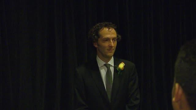 emmanuel lubezki at the asc awards at hyatt regency century plaza in los angeles california on february 18 2007 - hyatt stock videos & royalty-free footage