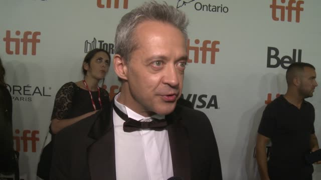 INTERVIEW Emmanuel Salinger on having the film at TIFF talks about the story and how it was to work with Natalie Lily and Rebecca at Roy Thomson Hall...