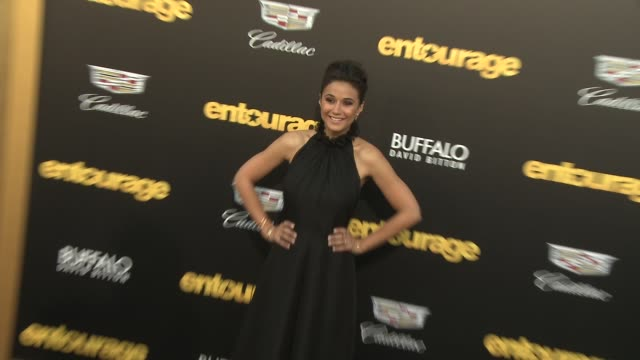 Emmanuelle Chriqui at Entourage Los Angeles Premiere at Regency Village Theatre on June 01 2015 in Westwood California