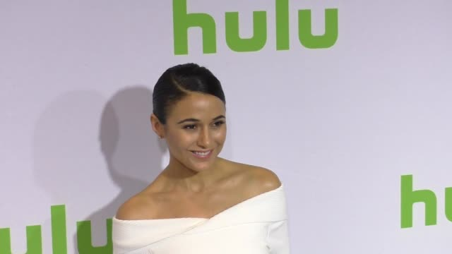 Emmanuelle Chriqui at the 2017 Winter Television Critics Association Tour Hulu Press Day at Langham Hotel on January 07 2017 in Pasadena California