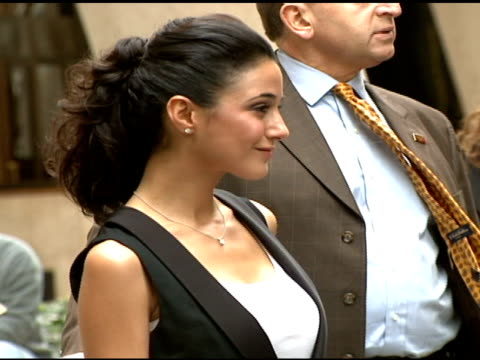emmanuelle chriqui at the 'paris je t'aime' premiere at paris theater in new york new york on may 1 2007 - paris theater manhattan stock videos and b-roll footage