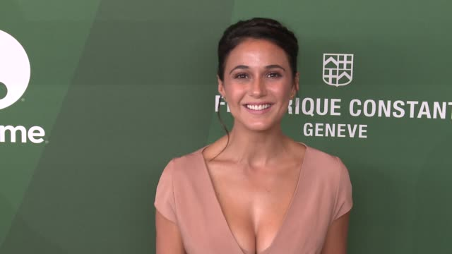 emmanuelle chriqui at variety's power of women luncheon 2016 at regent beverly wilshire hotel on october 14, 2016 in beverly hills, california. - regent beverly wilshire hotel stock videos & royalty-free footage