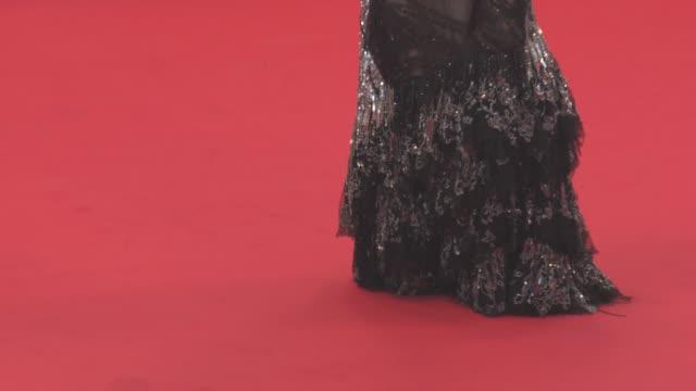 stockvideo's en b-roll-footage met emmanuelle seigner roman polanski eva green at 'based on a true story' red carpet official screening on may 27 2017 in cannes france - roman polanski