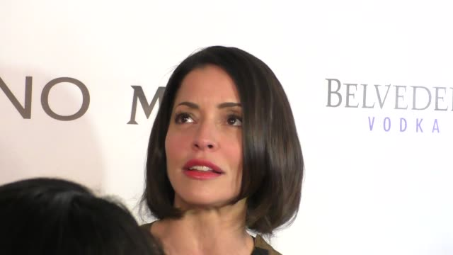 interview emmanuelle vaugier talks about fashion at the mark zunino atelier store opening in beverly hills celebrity sightings on january 07 2016 in... - atelier fashion stock videos & royalty-free footage
